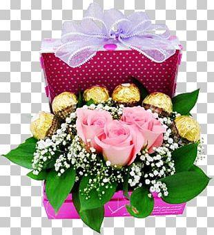 Birthday Flower Bouquet Gift Wedding Valentine's Day PNG