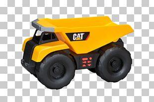 Caterpillar Inc. Toy Dump Truck Car Bulldozer PNG
