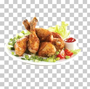 Hamburger Korean Fried Chicken Chicken Salad PNG