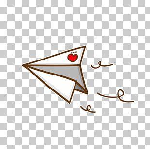 Airplane Paper Plane Illustration PNG