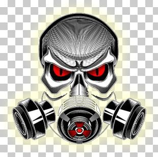 Gas Mask Personal Protective Equipment Headgear Skull PNG