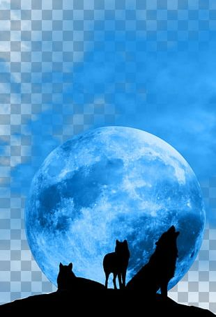 January 2018 Lunar Eclipse Blue Moon Supermoon Full Moon PNG