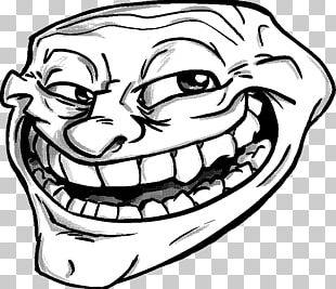 Drawing Trollface Rage Comic PNG