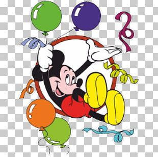 Mickey Mouse Minnie Mouse Donald Duck Party PNG