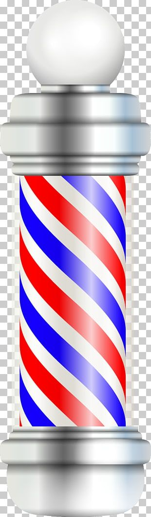 Barbers Pole Barbershop Hairdresser PNG