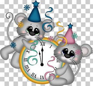 New Years Eve New Years Day Clock PNG