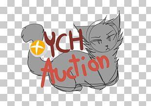 Kitten Whiskers Cat Logo Illustration PNG