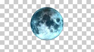 Turquoise Desktop Gemstone Moon Lunar Calendar PNG