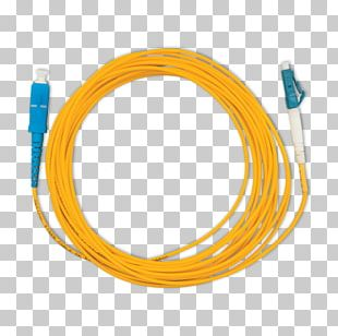 Fiber Optic Patch Cord Single-mode Optical Fiber Patch Cable Electrical Cable PNG