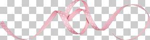 Pink Ribbon Drawing PNG
