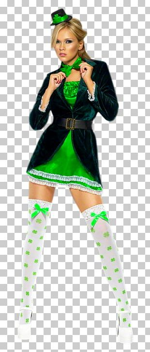Saint Patrick's Day Costume Party Disguise Irish People PNG