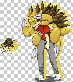 Sandslash Pikachu Pokémon Sandshrew Raichu PNG