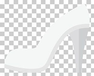 White High-heeled Footwear Sandal Pattern PNG