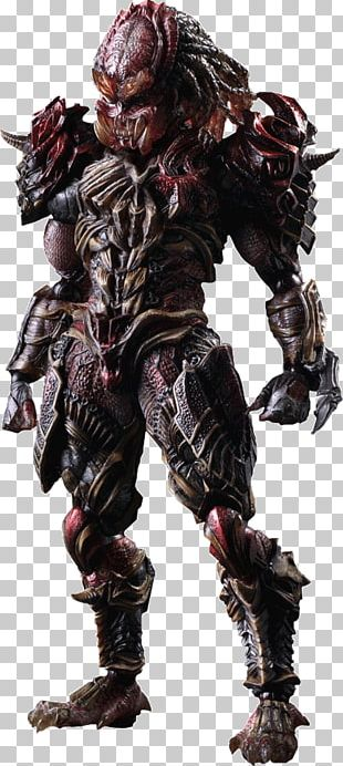 """Predator"" Variant Play Arts Kai Predator Alien Action & Toy Figures Bandai Predator Play Arts Kai Action Figure PNG"