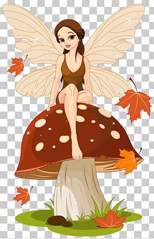 Mushroom Fairy Ring Marasmius Oreades Fungus PNG