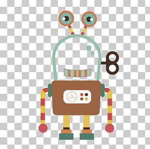 Robot Cartoon Euclidean Illustration PNG