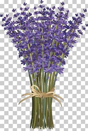 Lavender Flower Bouquet PNG