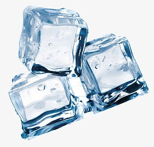 Square Ice Cubes PNG