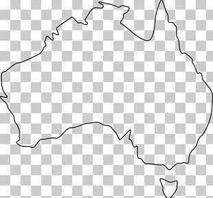 Australia Blank Map World Map Outline PNG