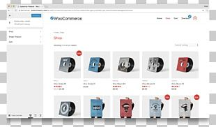 Page Layout WooCommerce Plug-in PNG