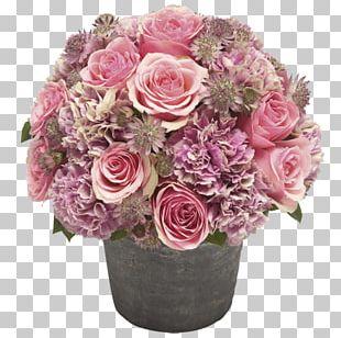 Garden Roses Floral Design Cut Flowers Cabbage Rose Flowerpot PNG