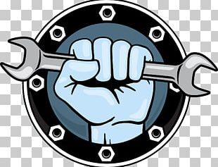 Hand Tool Wrench Fist Icon PNG