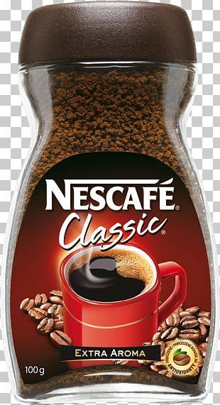 Instant Coffee Nescafé Coffee Bean Flavor PNG