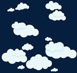 Cartoon Clouds Sky PNG