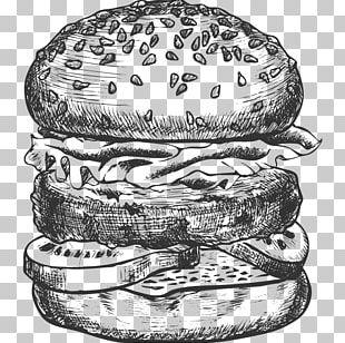 Hamburger Cheeseburger Veggie Burger Fast Food PNG