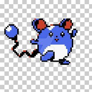 Pokémon X And Y Marill Sprite Pokémon Trainer PNG