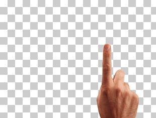 Thumb Font Design Product PNG