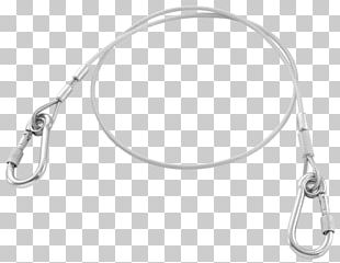 Carabiner Stainless Steel Wire Rope PNG