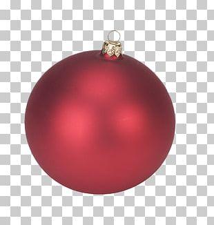 Christmas Ornament Christmas Decoration Maroon Magenta PNG