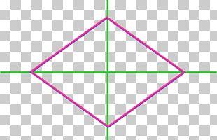 Rhombus Angle Area Symmetry Diagonal PNG