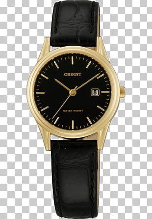 Analog Watch Quartz Clock Chronograph Orient Watch PNG