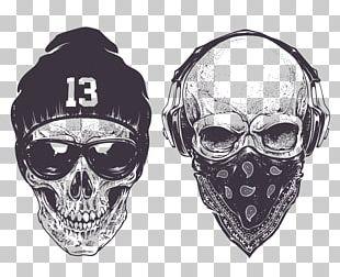 Skull Drawing Gangsta Rap Gangster PNG