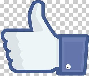 Facebook Like Button Social Media Advertising PNG