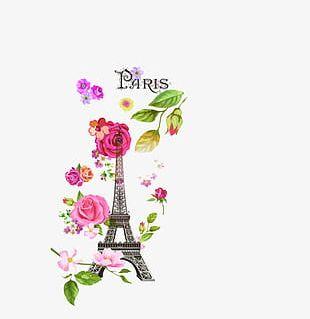 Paris Flowers PNG