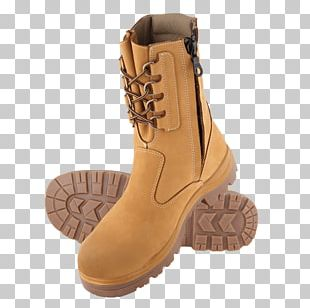 Steel-toe Boot Zipper Shoe Footwear PNG
