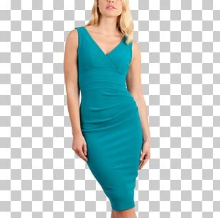 Dress Navy Blue Green Clothing PNG