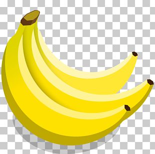 Food Banana Family Yellow Fruit PNG