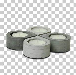 Candlestick Concrete Tealight Lighting PNG
