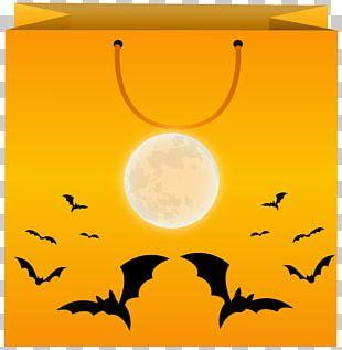 Happy Halloween Clipart Orange PNG