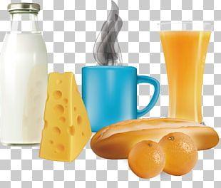 Orange Juice Coffee Breakfast Milk PNG
