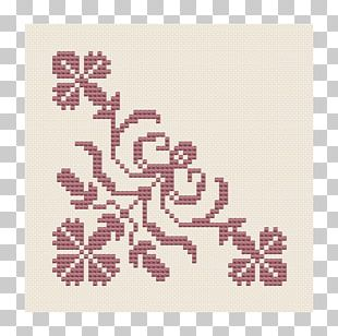 Cross-stitch Embroidery Motif Pattern PNG