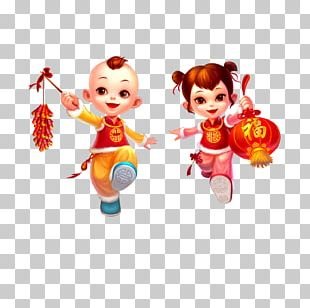 Chinese New Year Firecracker Lunar New Year PNG