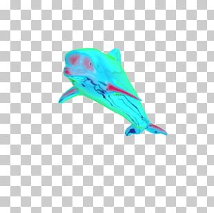 Dolphin Vaporwave Seapunk Synthwave PNG