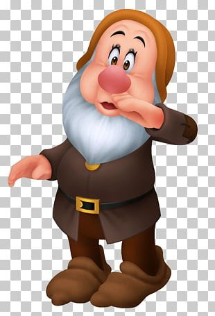 Seven Dwarfs Sneezy Dopey Bashful PNG