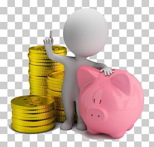 Money 3D Computer Graphics Stock Photography Piggy Bank PNG