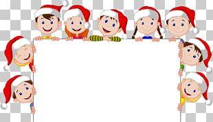 Christmas Child Cartoon Illustration PNG